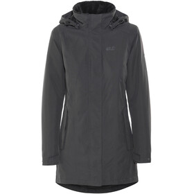 Jack Wolfskin Madison Avenue Hardshell Coat Women phantom